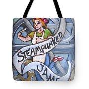 Steampunked Jams Tote Bag