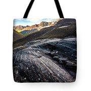Steamroller Sunset Tote Bag by Tim Newton