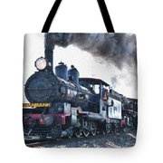 Steamtrain To Carltoncreekhurst L B Tote Bag