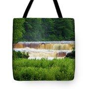 Steamy Lower Tahquamenon  Tote Bag