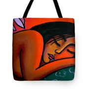 Steamy Night Tote Bag
