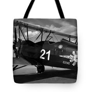 Stearman Biplane Tote Bag
