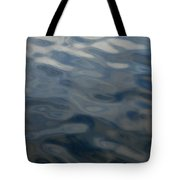 Steel Blue Tote Bag by Donna Blackhall