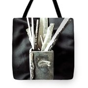 Steel Bouquet Tote Bag