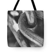 Steel Chain Link Tote Bag