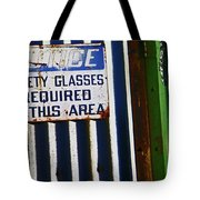 Steel City--safety Glasses Tote Bag