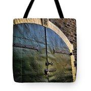 Steel Doors Tote Bag