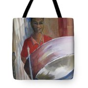 Steel Drums Tote Bag