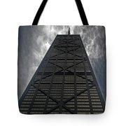 Steel Grey Skyrise Chicago Tote Bag