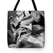 Steel Men Fighting 4 Tote Bag