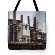 Steel Mill Tote Bag
