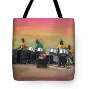 Steel Pan Players Antigua Tote Bag