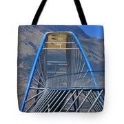 Steel Pedestrian Bridge In Ibarra Tote Bag