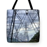 Steel Soldiers Marching To The Sea Tote Bag