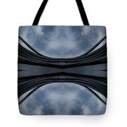 Steel Waves Tote Bag