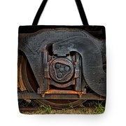 Steel Wheel Of Progess Tote Bag