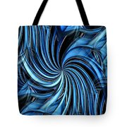 Steel Whirlpool Tote Bag