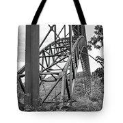 Steel Wonder 2 Bw Tote Bag