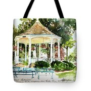 Steele Memorial Bandstand Tote Bag