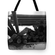 Steele Rods Tote Bag