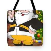 Steelers Santa Claus Tote Bag