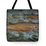 Steelhead Trout Fall Migration Tote Bag