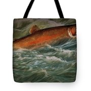 Steelhead Trout Fish No.143 Tote Bag