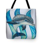 Steemit Dolphin Tote Bag