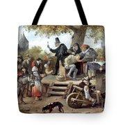 Steen: Quack, 17th Century Tote Bag
