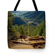 Steep Manitou Incline And Barr Trail Tote Bag