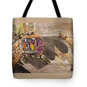 Steep Riding Tote Bag