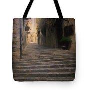 Steep Steps Of Girona Tote Bag