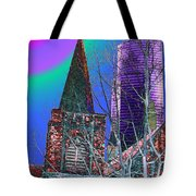 Steeple And Columbia Tote Bag