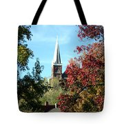 Steeple At Harprs Ferry Tote Bag