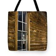 Steeple Window Wall Tote Bag