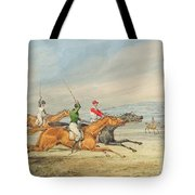 Steeplechasing Tote Bag