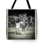 Steer Buck Out _c Tote Bag
