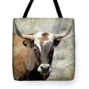 Steer Bull Tote Bag