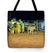 Steer Roping Tote Bag