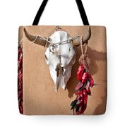 Steer Skull In Santa Fe Tote Bag
