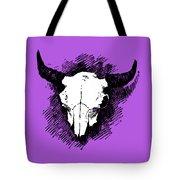 Steer Skull Tee Tote Bag