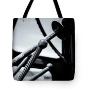 Steering Column Of Direction Tote Bag