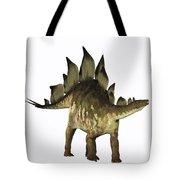 Stegosaurus Profile Tote Bag