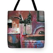 Stellar Still Life With Ocean View Tote Bag