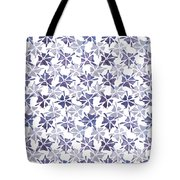 Stencilled Floral Tote Bag by Jocelyn Friis