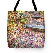 Step Into Fall Tote Bag