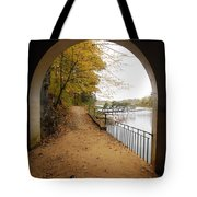 Step Into Fall Tote Bag