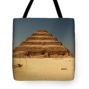 Step Pyramid 2 Tote Bag