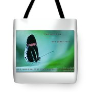 Step With Care Tote Bag