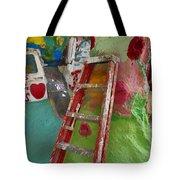 Stepladder To Heaven Tote Bag